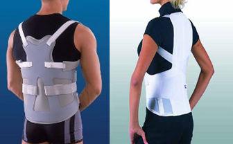 Der Schmerz in den Kernen des Rückens